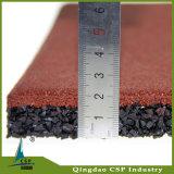 Rote Farben-Gummifußboden auf Verkäufen