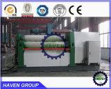 fabricante hidráulico de la dobladora del rodillo del hierro de la prensa de batir de la placa de 4 rodillos
