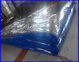 Couverture corrigeante concrète de bâche de protection isolée par PE