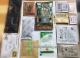 a máquina de embalagem do saco de feijão 2-99g pode embalar sacos com logotipo