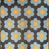 Angoli puri mattonelle di ceramica di pavimento e della parete di esagono sei di colore di disegno di pietra di marmo