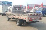 Vrachtwagen van de Vrachtwagen van de Lading van Cabine Mini/Small/ van de Benzine van Rhd/LHD 1.2L de Dubbele Lichte
