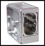 Delen van de Legering van het Aluminium van de hoge Precisie, CNC de Delen van de Machine