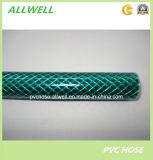 """プラスチックPVC適用範囲が広い補強されたファイバー編みこみの水潅漑のガーデン・ホース1/2 """""""