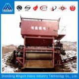 鉄鋼、川の砂、砂の丘のためのCTのミッドフィールダーの(semimagnetic)乾燥したドラム常置磁気分離器