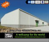 Wellcamp modificó el taller estándar de la estructura para requisitos particulares de acero