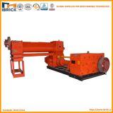 Machine de moulage de brique d'extrudeuse de vide de machine de fabrication de brique d'argile rouge