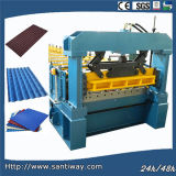 A telha do metal lamina a formação da máquina feita em China