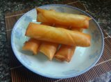 HACCP Brc Certifacte Tsingtao 식물성 동결된 Cookin에 있는 20g/Piece 봄 Rolls