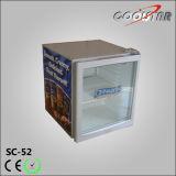 Tisch-Oberseite-Getränkekühlvorrichtung-Bildschirmanzeige-Kühlraum-Schaukasten (SC52)