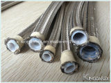 Flexible Stainless Steel Braided Reinforced Teflon Hydraulic Hose