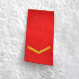 후에 Army Uniform를 위한 Hot Melt Adhesive Patch에