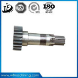 鋼鉄合金CNCの機械化モーターまたは通されるまたはギヤか減力剤または平行か空シャフト