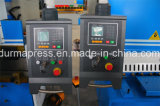 Máquina de corte hidráulica QC12y-8*4000 usada para a estaca de folha do metal