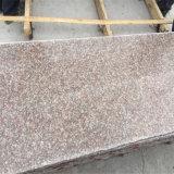 Polished G687 복숭아 미터 당 화강암의 빨간 화강암 석판 가격