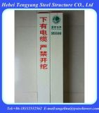 Bornes plásticos reforçados fibra de vidro do marcador do gasoduto FRP