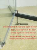 La dimensión de una variable del diamante filmó la cabina de cristal de la ducha del cubículo de la ducha del recinto de la ducha