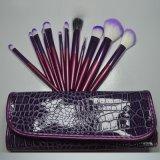OEM de calidad superior Design 12PCS Makeup Brushes con Caso