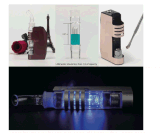 2016 전자 담배 도매 세라믹 난방 기화기 E Cig Jomo 왁스 기화기 어두운 기사 정신