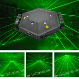 Toont de Groene Multi-Effect Laser 6lens Turtlelight van L26300g 300MW Systeem