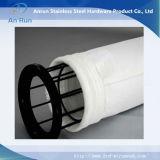 304/316 bolsa de filtro de acero inoxidable para el aire