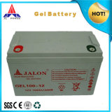 Larga vida Deep Cycle Gel Battery para Solar Power 12V100ah