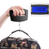 Eletrônico com retroiluminação embutida Mini escala de bagagem portátil