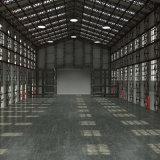 Vorfabriziertes Technik-Stahlkonstruktion-Lager Worlshop mit Metallrahmen