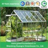 ポリカーボネートシートアルミニウムフレームの庭の温室