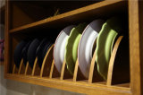 Armoires de cuisine en bois massif en cerisier avec ISO9001