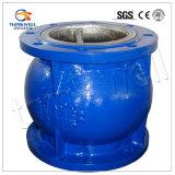 Valvola d'aspirazione della pompa ad acqua del ghisa di prezzi di fabbrica con il setaccio
