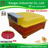Incubateur automatique d'oeufs de poulet hachant la machine pour 36 oeufs (KP-36)