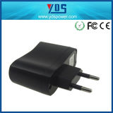 5V 1A de EU Wall Plug Adapter met USB