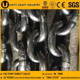 Chaîne à haute résistance galvanisée / non galvanisée / Ss / Peinture / Chaîne en acier