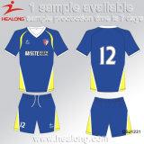Le football Jersey de modèle de Healong de vêtement des hommes neufs de sublimation