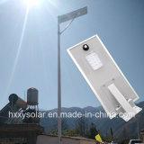6W-60W 정원 선 태양 제품 높은 광도 12W 통합 태양 LED 가로등