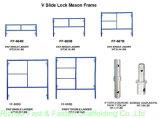 """5 ' *6'7 """" Systeem van het Frame van de Ladder van de Steiger het Dubbele (FF-429A)"""