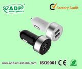заряжатель автомобиля USB 5V 1A микро- с кабелем для ежевики для телефонов Samsung франтовских с кабелем