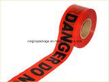 Rotes PET warnendes Plastikband mit Qualitäts-heißem Verkauf in USA