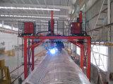 Tipo máquina do pórtico de soldadura para o tanque especial do reboque da forma