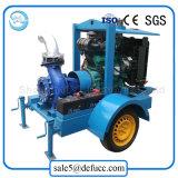 Установленный трейлером насос промышленного двигателя дизеля всасывания конца центробежный