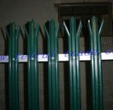 Palizada revestida del polvo de la alta calidad que cerca para el mercado BRITÁNICO
