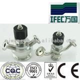 Válvula aséptica sanitaria de la muestra del acero inoxidable (IFEC-SV100013)