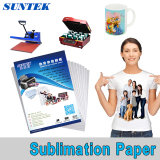 A3 A4 Roll Sublimation Transfer Paper para T-Shirt Ceramic Mug