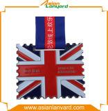 Abnehmer-Entwurfs-Firmenzeichen-Metallmedaille mit Farbband