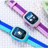 1,22 pulgadas de pantalla de Seguridad Para Niños GPS del reloj con la comunicación de dos vías