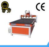 Ranurador de trabajo de madera 1325 del CNC de la Muti-Pista competitiva con el vector del vacío