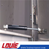 amortisseur de levage de longueur de 420mm avec l'ajustage de précision d'extrémité en plastique pour la boîte à outils
