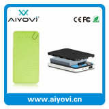 Nuevo diseño al por mayor batería portable de la potencia de 6000 mAh con diverso diseño del color