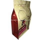 De vierkante Verpakkende Zak van de Bodem voor Voedsel